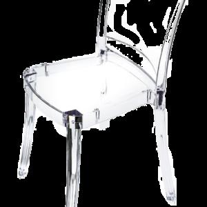 Location de chaise transparente