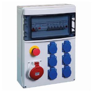 Location Coffret électrique 32A Tetra - 6 pc 16A + Prise Tétra 16 A