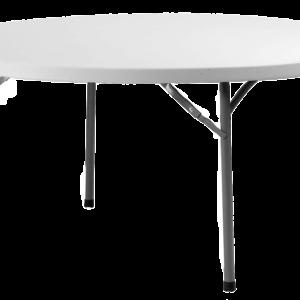 location de table ronde 150 cm