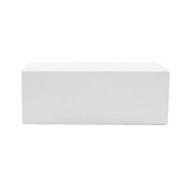 Location de banquette 2 place en simili cuir blanc